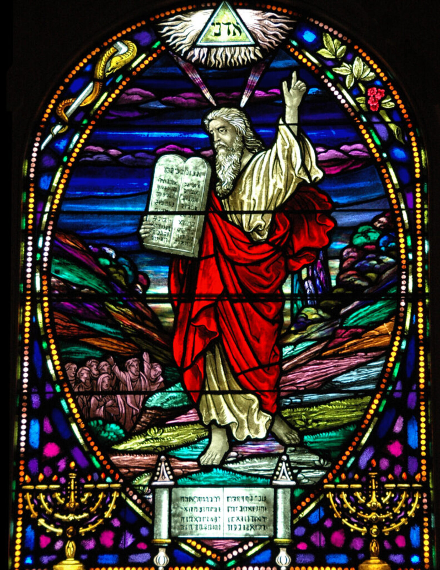 Moses Stained Glass Full 8.5x11